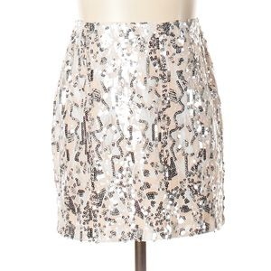 F21 Sequin skirt NWT